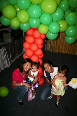 Fairyland Balloon Decor