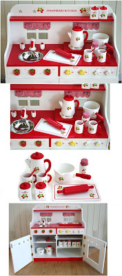 Mother Garden Strawberry Kitchen