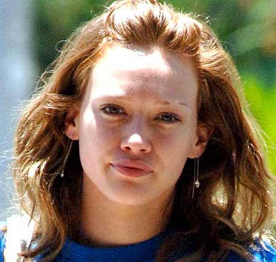 Hilary Duff skin care