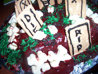 Adventures of a girl from the Naki  Election Night of Horror - Part one -  Cemetary Cake 039c29ac01262