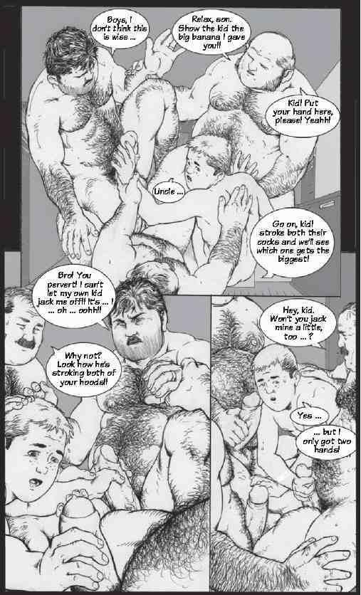 Understand The sauna was to small porn comic agree