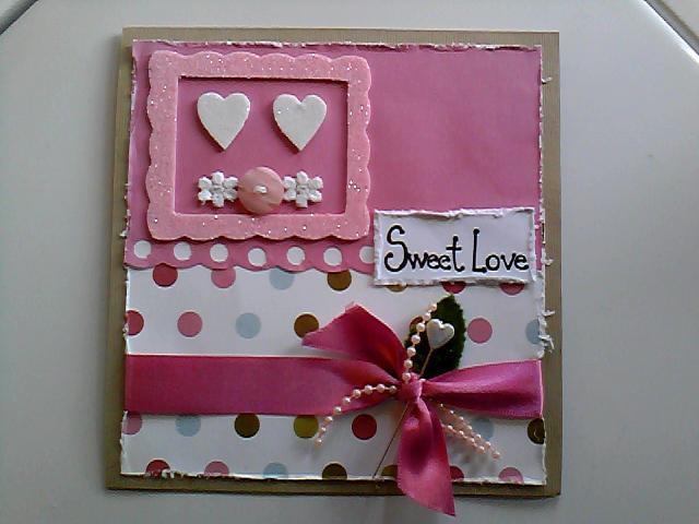 Tarjetas de San Valentín hechas en foami - Imagui