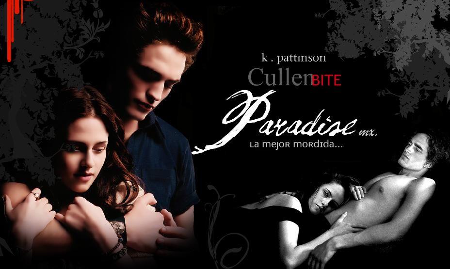 k . Pattinson - Cullen bite  . PARADISE mx.-  La mejor mordida...