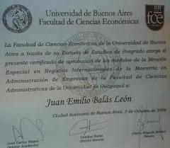 JUAN BALAS,MBA.