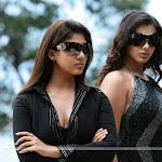 Nayanthara & Namitha Tamil Movie Billa Hot Stills