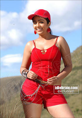 Actress Charmme bikini bra Red Dress photo gallery