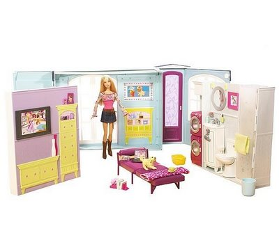Barbie fashion casas da barbie - Supercasa de barbie ...
