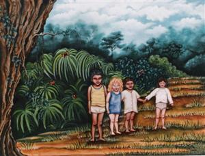 """Children of the rainforest"", año 2000."
