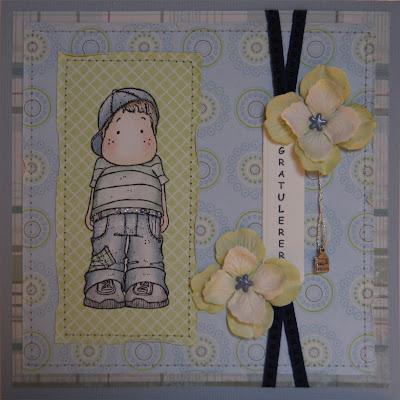 Stempel fra magnolia og ladybug and friends. blomster fra prima. tag