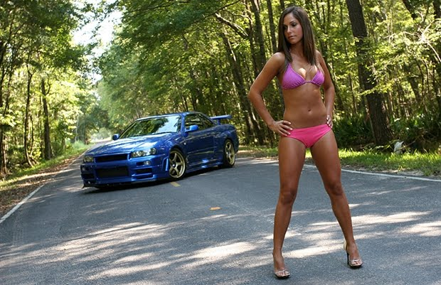 hot girl with nissan - photo #33