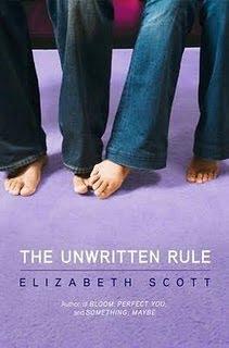 The Unwritten Rule de Elizabeth Scott  Untitled