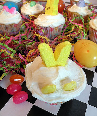 easter cupcakes pictures. quot;My Peepsquot; Easter Cupcakes