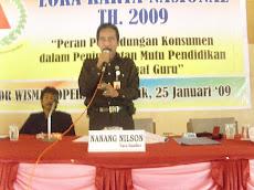 SOSIALISASI UUPK.NO.8 TH.1999 OLEH LPKSM KOMNAS PK-PU