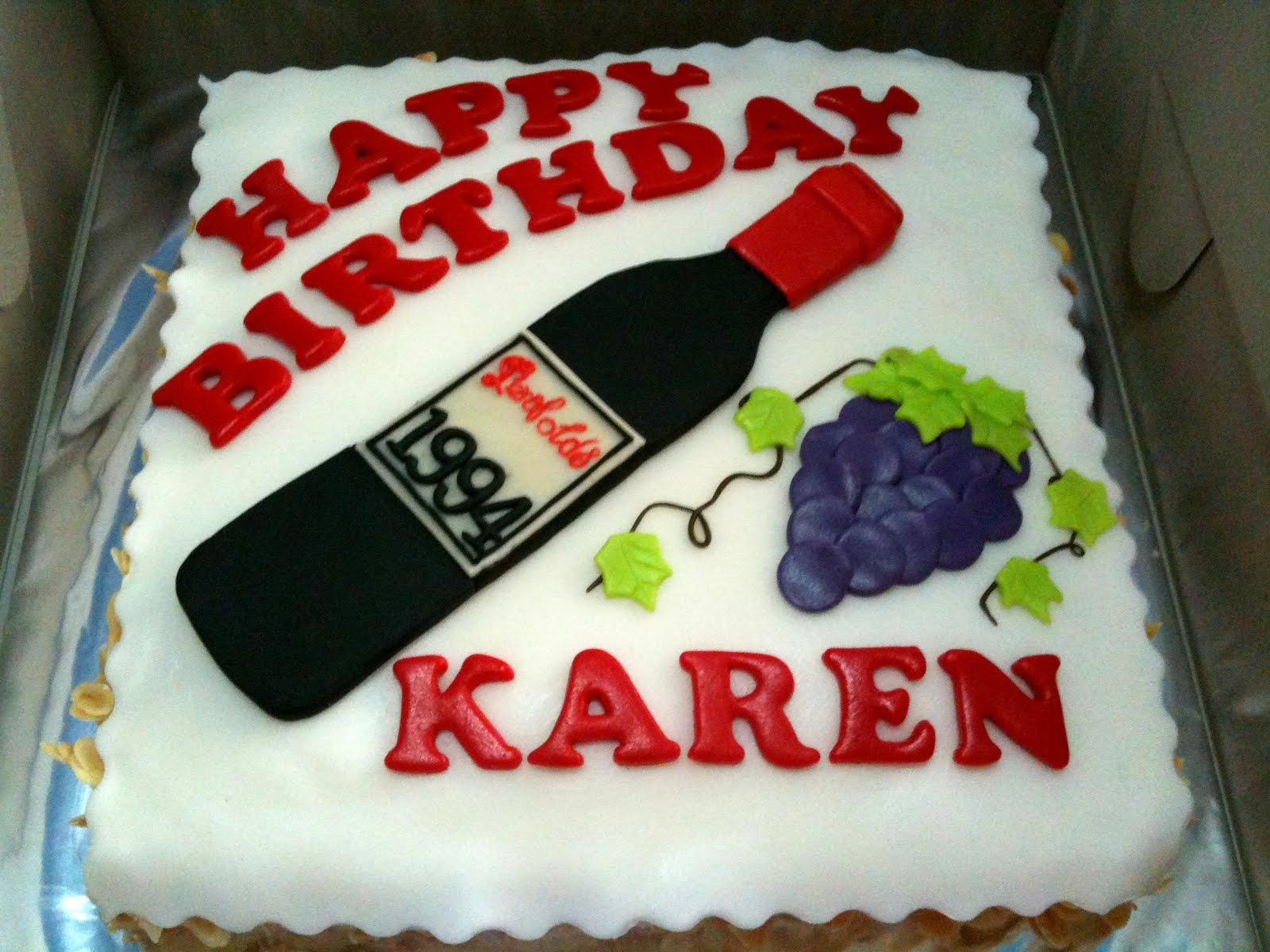 happy birthday karen cake images