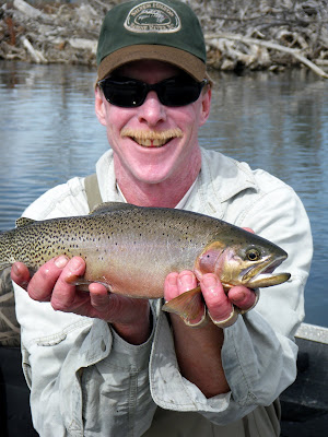 Jeff Rogers on the Bitterroot with Wapiti Waters