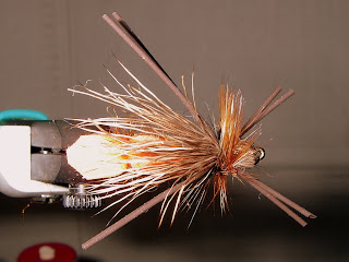 Billy's Salmon Fly - Top View