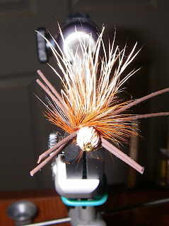 Billy's Salmon Fly - Front View