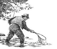 FOAM sketch of fisherman