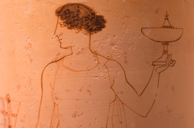 Cramique attique (lekythos funraire)