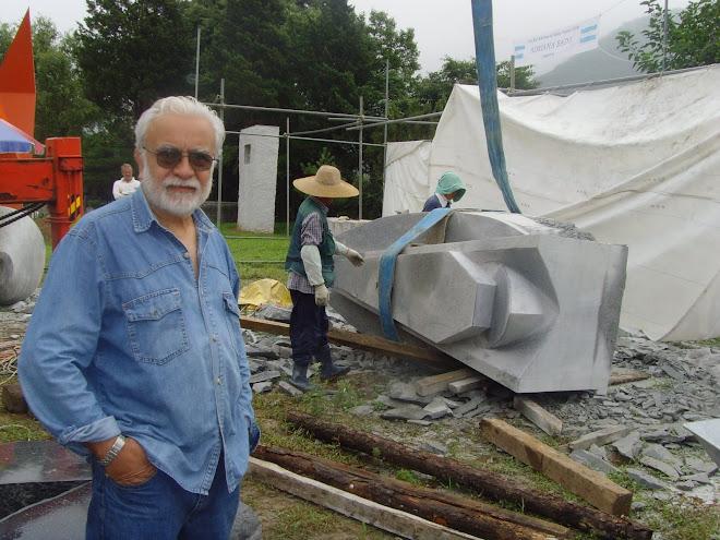 corea 5º simposio internacional escultura en granito