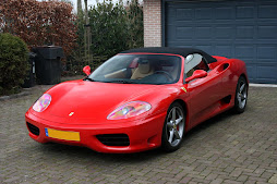 My Red Ferrari 360 Spyder