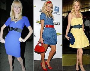 Como usar cintos com vestidos