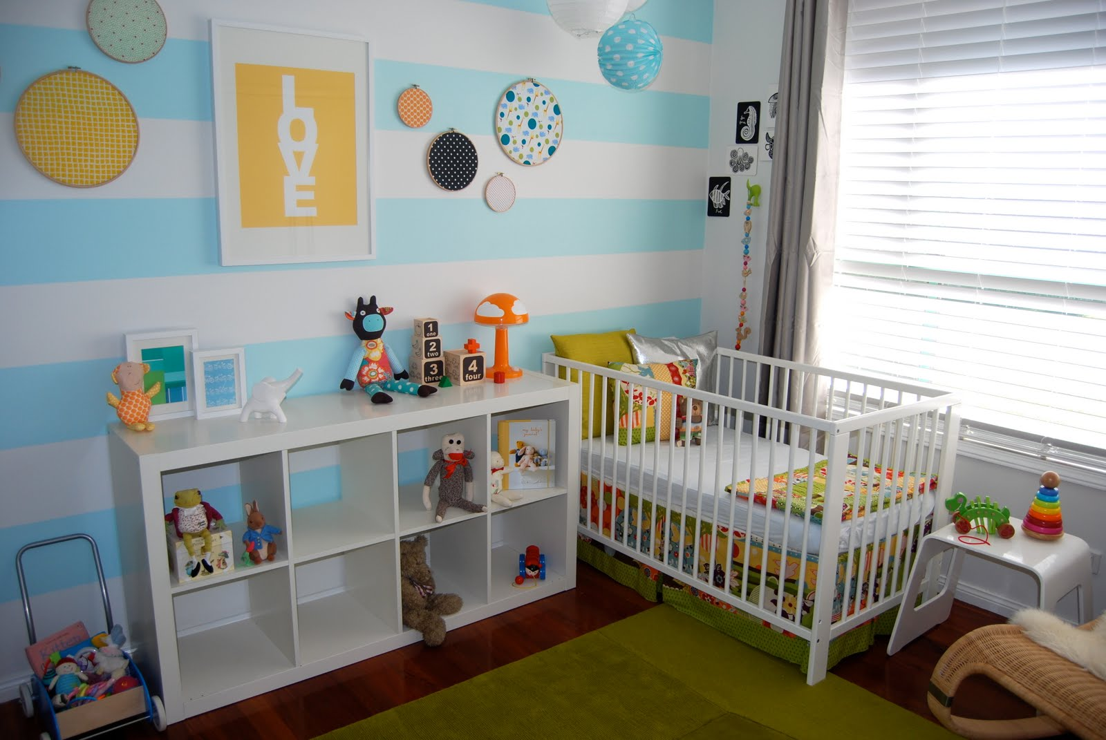 Bubby makes three my gender neutral nursery reveal for Baby room decorating ideas uk