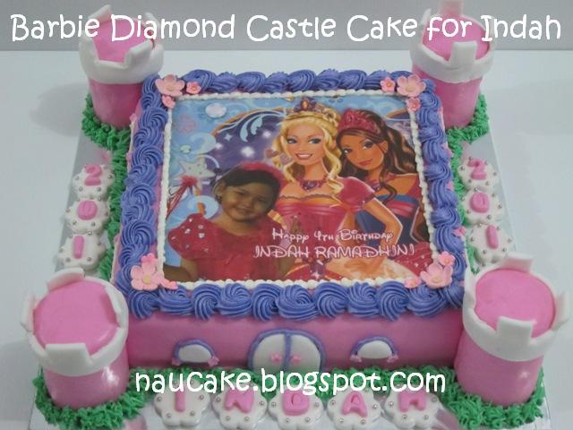 Barbie Castle Cake Images : Nau Cake: Barbie Diamond Castle Cake for Indah