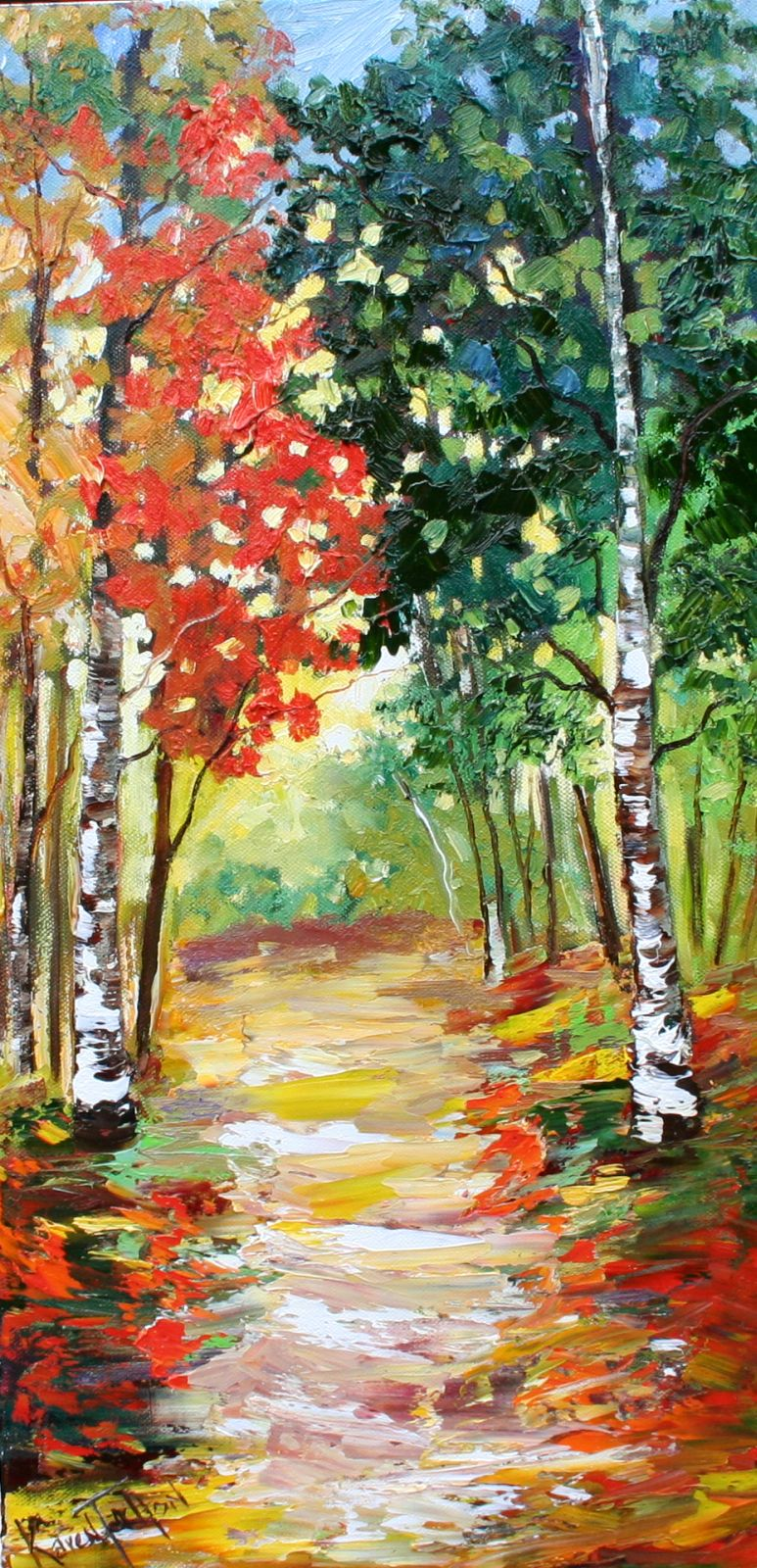 Tree Oil Paintings