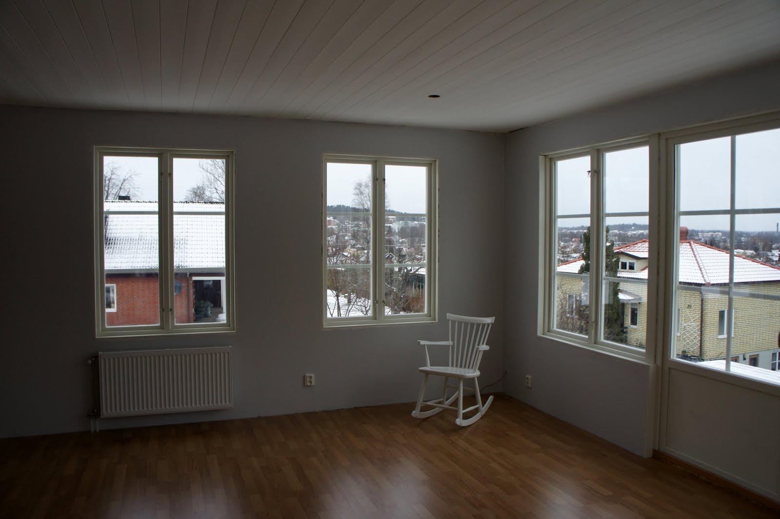 Inredning : vardagsrum i utbyggnaden