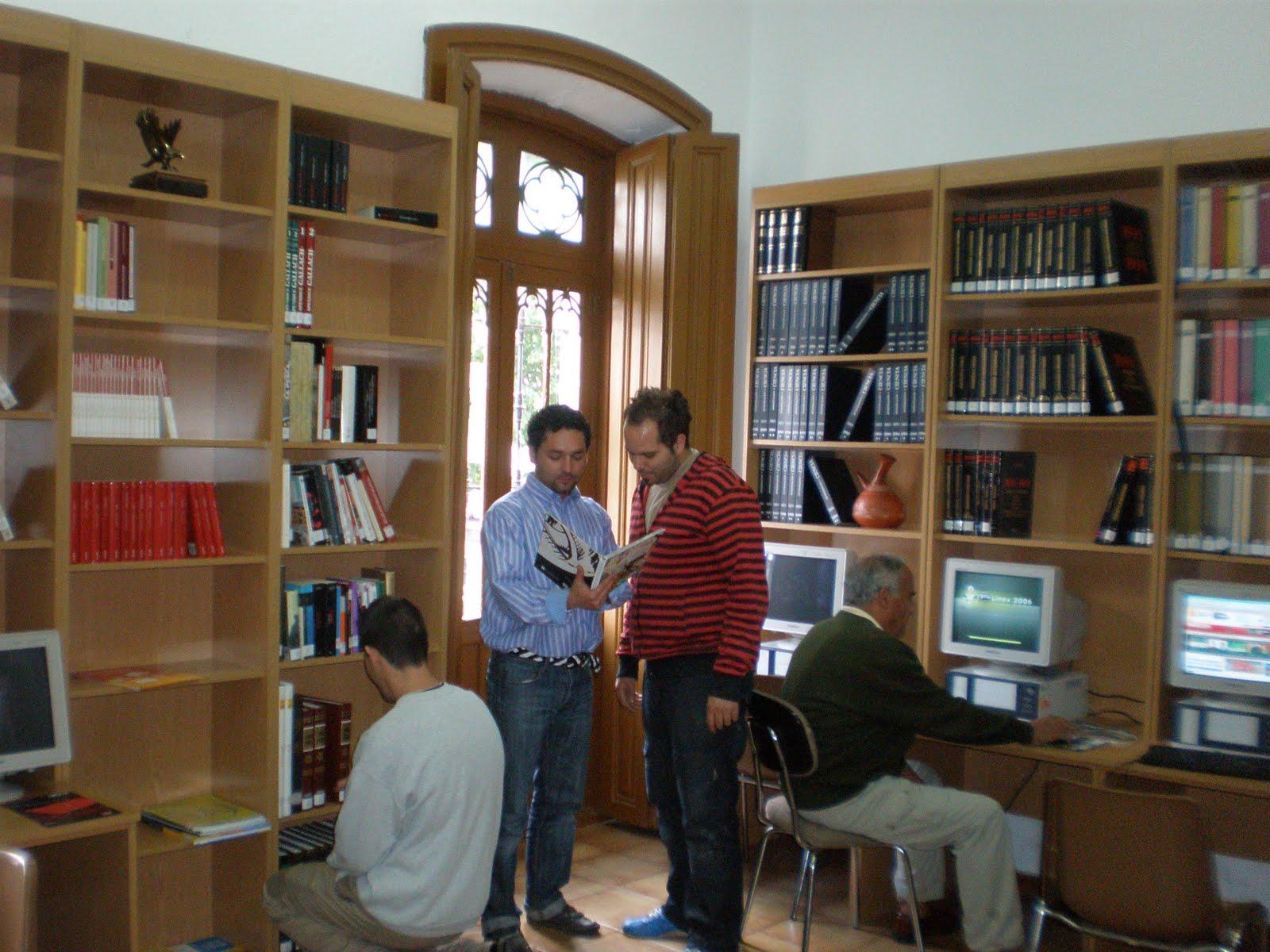La biblioteca municipal de barcarrota horario de la for Cuarto milenio horario