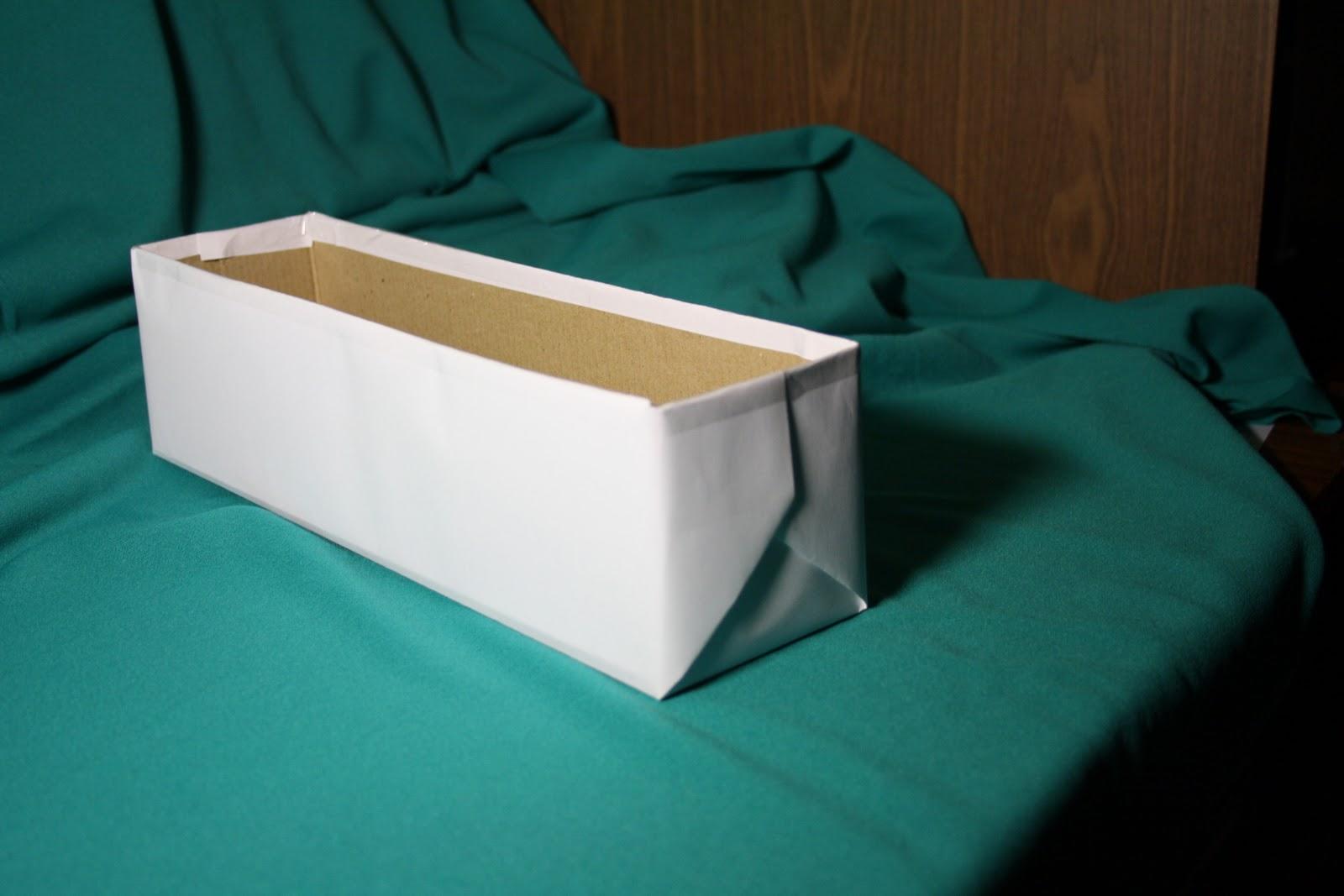 Своими руками картонная коробка для хранения