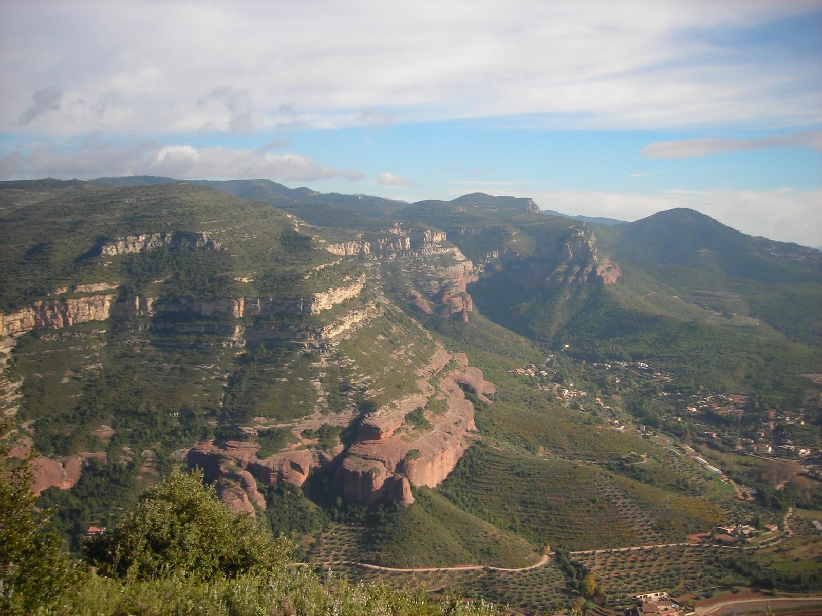 Rutas a pie por la provincia de barcelona rutas por el vall s oriental 3 sant feliu de codines - El tiempo en el valles oriental ...