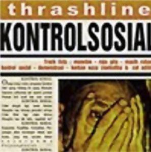 Trashline Cover Album Kontrol Sosial Band Thrash Metal jakarta Logo Foto Wallpaper