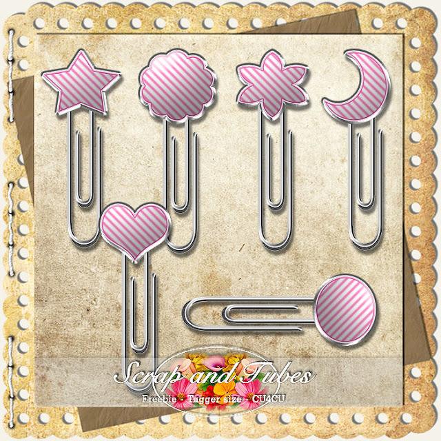 Fun Clips 1 Fun+Clips+1_Preview_Scrap+and+Tubes
