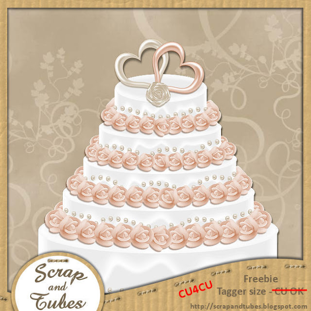 Wedding Cake (CU4CU) Wedding+Cake+Freebie_Preview_Scrap+and+Tubes