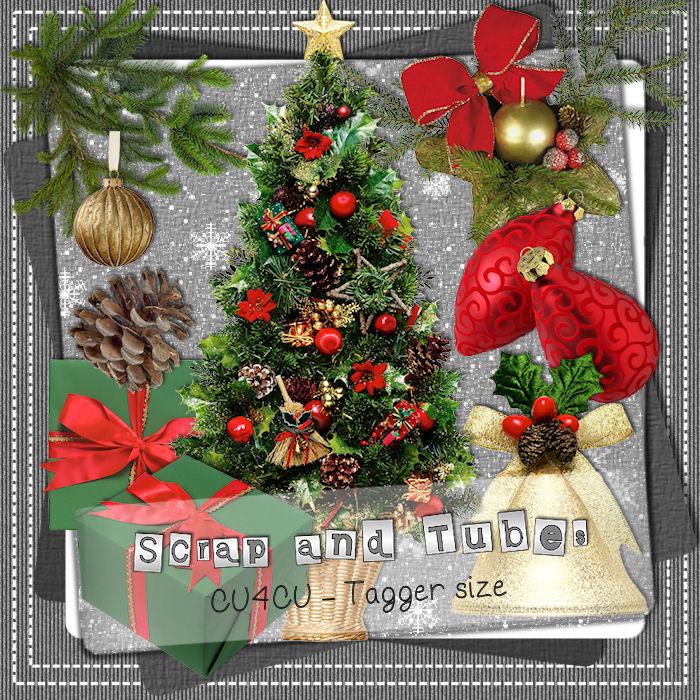 Christmas Elements (CU4CU) .Christmas+Elements_Preview_Scrap+and+Tubes