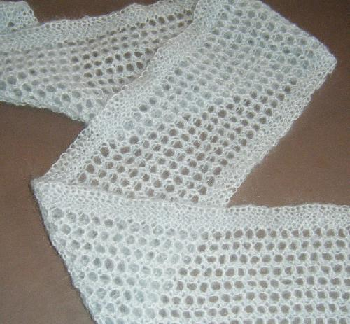 The Doily Underground Orenburg Honeycomb Lace Scarf