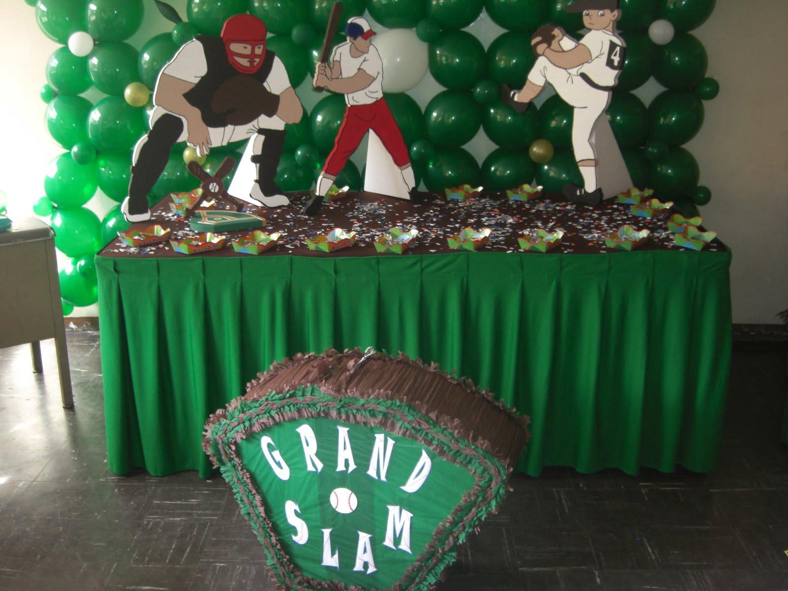Decoracion fiesta de beisbol auto design tech - Decoracion fiesta cumpleanos ...