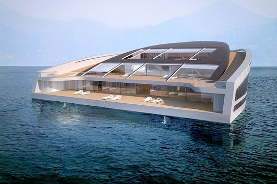 Ecocentric le yachting de luxe bat pavillon vert for World no 1 home