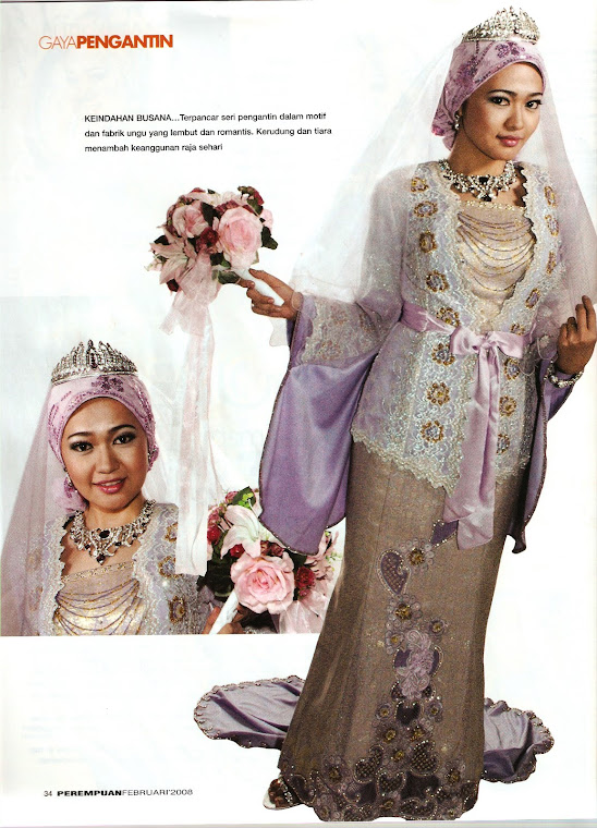 fesen pakaian pengantin