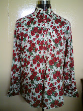 KEMEJA PAUL SMITH BUNGA MADE IN ITALY 3 (SOLD)