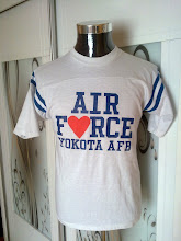 VINTAGE AIRFORCE 50/50 KAIN SAMBUNG SHIRT (SOLD)