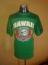VINTAGE HAWAII RAINBOW RAYON KAIN SAMBUNG SHIRT (SOLD)