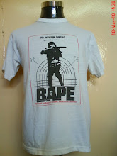 VINTAGE BATHING APE 50/50 ONEITA TAG (SOLD)