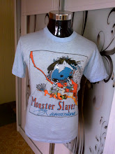 VINTAGE MONSTER OF SLAYER OLD 50/50 SHIRT (SOLD TO MR ALIAS LAPANA)