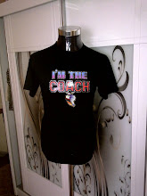 VINTAGE 1979 I'M THE COACH IRON ON 50/50 T SHIRT (SOLD)