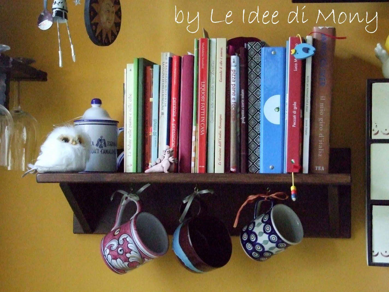 Le idee di mony mensola rustica per i miei libri di for Libri di cucina per principianti