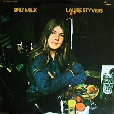 Laurie Styvers - Spilt Milk (Chrysalis CHR 1007), 1972