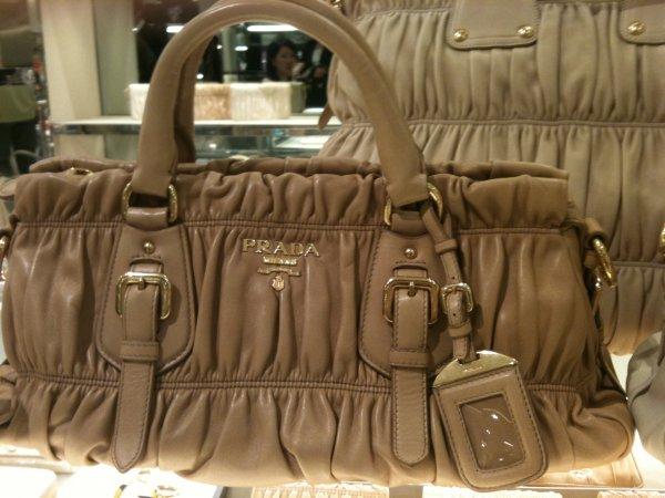 new prada leather strap